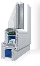 PVC windows & doors, VIVA PLAST, System 6300