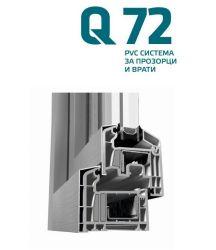 PVC дограма, ETEM, Система Q72